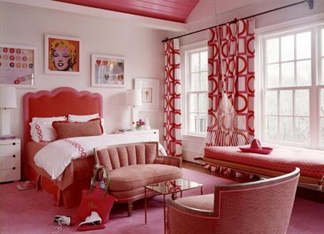 Красная спальня: особенности дизайна. Как создать интерьер красной спальни