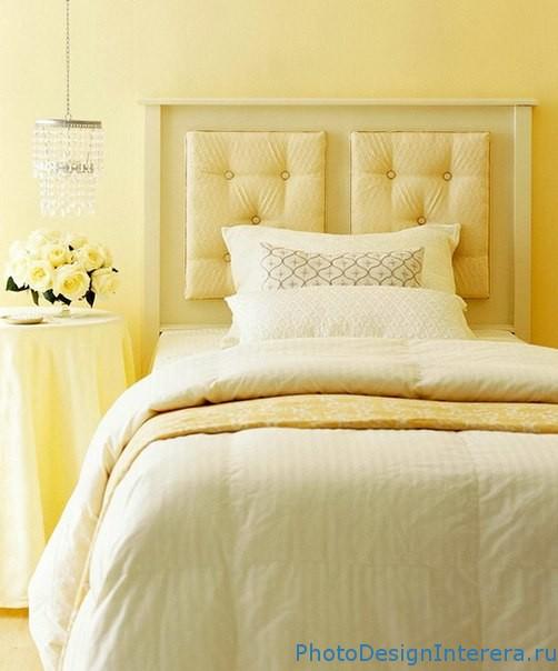 Как оригинально оформить изголовье кровати?
