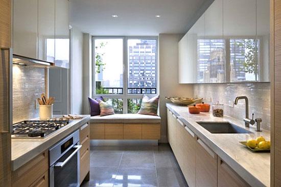 Кухня с эркером: дизайн, особенности, фото