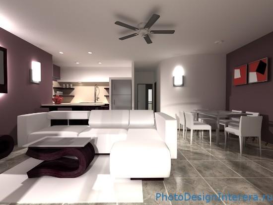Разработка интерьера однокомнатной квартиры