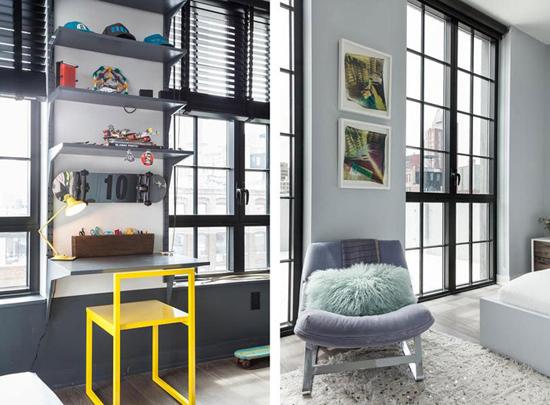Квартира в стиле лофт в центре Бруклина