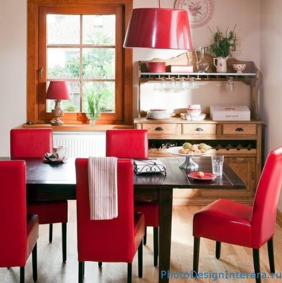 Фотографии дизайна интерьера кухни со столовой