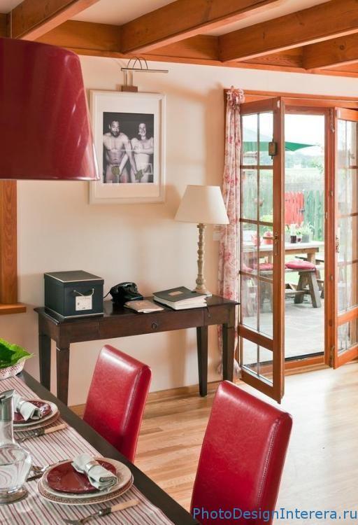 Современный дизайн кухни со столовой фото