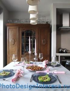 Кухня из дерева дизайн фото