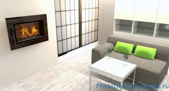 Дизайн интерьера маленькой гостиной фото