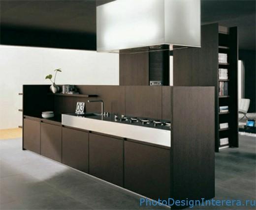 Стильный дизайн маленькой кухни
