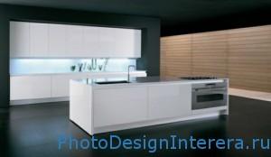 Дизайн стильной и маленькой кухни фото