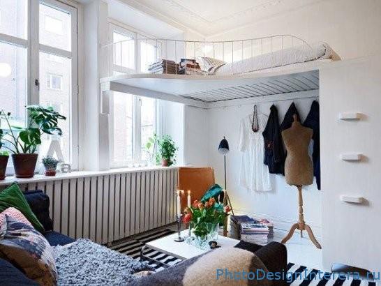 Компактный дизайн маленькой спальни фото