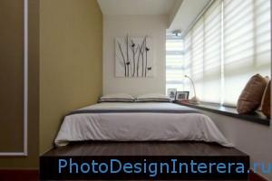 Красивый дизайн маленькой спальни фото