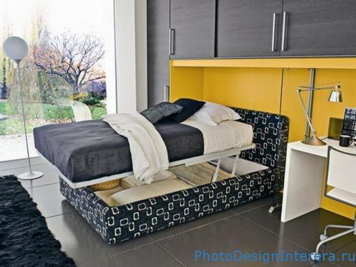 Фотографии дизайна маленькой спальни