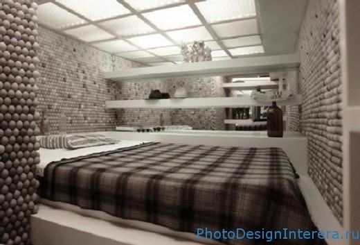 Идеи и фотографии интерьера маленькой спальни фото