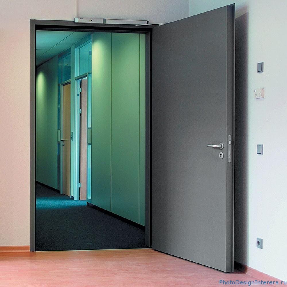 Выбор металлической противопожарной двери