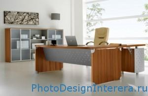 Дизайн интерьера офиса. Офисная мебель фото.