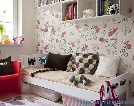 Как выбрать обои в детскую комнату?