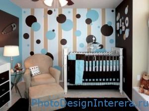 Фотографии обоев в дизайне детской комнаты фото