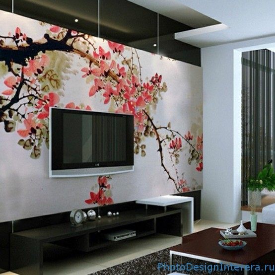 Wall painting line design