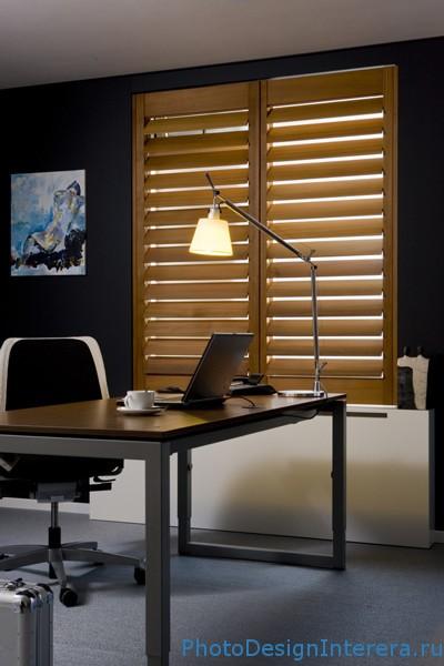 Дизайн домашнего офиса на чердаке фотографии