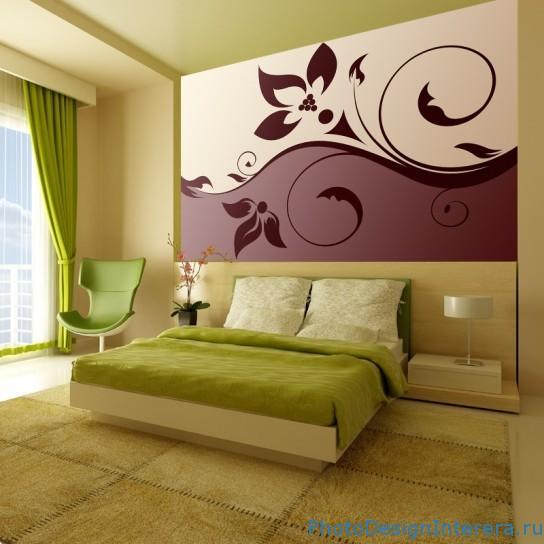 Как правильно украсить стены фото картинами в спальне?