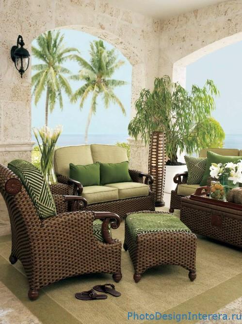 Виды материалов для мебели патио