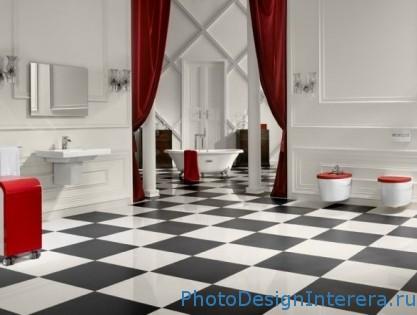 Дизайн плитки для пола в ванной комнате фото