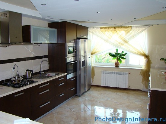 Дизайн плитки на кухне фото