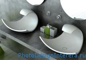 раковина в ванной комнате фото