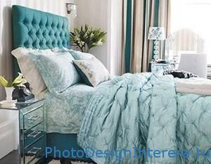 Синий цвет в дизайне интерьера комнат фото