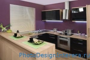 Современный дизайн интерьера кухни фото