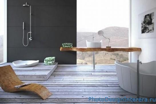 Современная и роскошная ванная комната с телевизороми музыкой фото