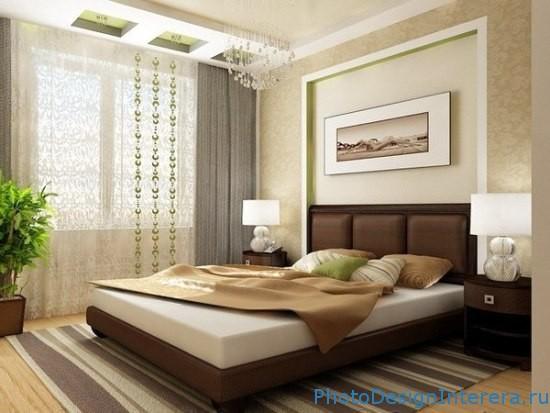 Дизайн спальни с картинкой фото