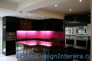 Декоративные скинали на кухне фото