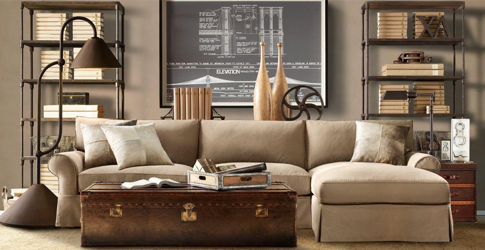 Сундук в интерьере: винтажная нота в современном дизайне