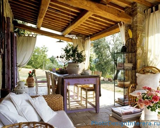 Разработка интерьера в тосканском стиле