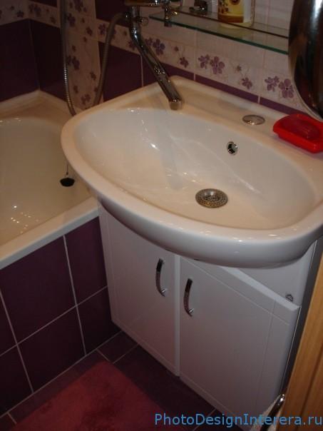 Туалет, совмещенный с ванной