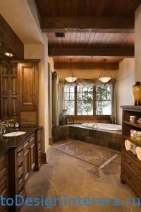 Применение древесины для отделки ванной комнаты, сауны, бассейна