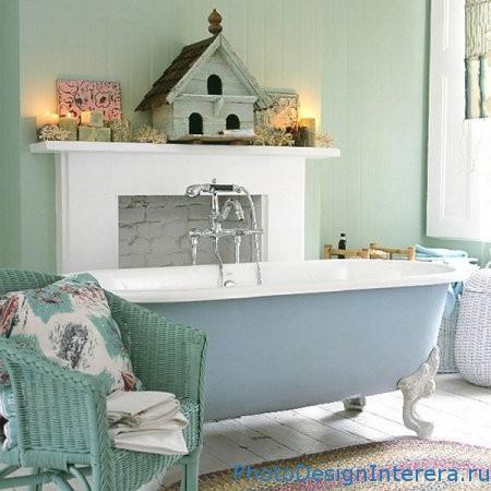 Красивая ванна в ванной фото
