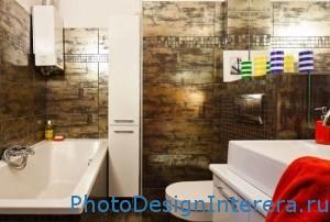 Особенности разработки интерьера тесной ванной комнаты фото