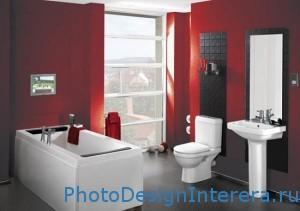 Современный дизайн ванной комнаты фото