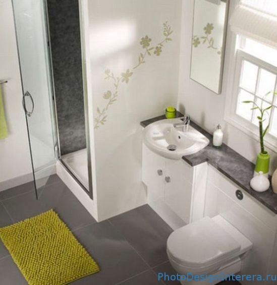 Стильный и современный дизайн ванной комнаты фото
