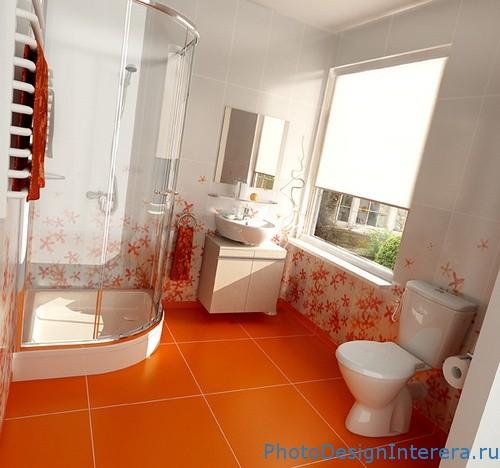 Дизайн ванной комнаты с душевой кабиной - гидробоксом фото