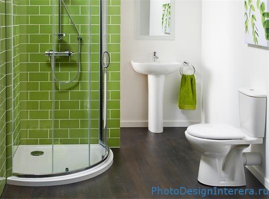 Дизайн ванной комнаты со стильной душевой кабинкой и гидробоксом фото