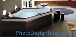 Ванна с гидромассажем (джакузи) фото