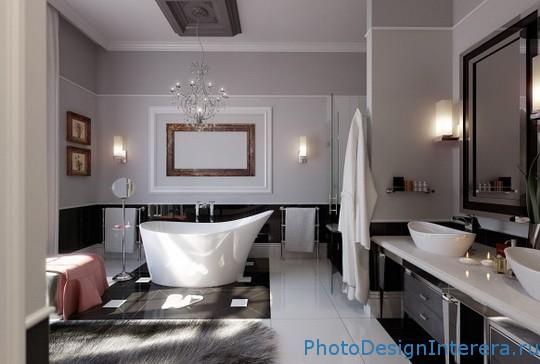 Классный дизайн ванной комнаты фото