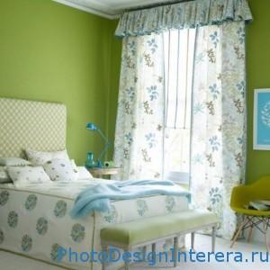 Освежаем интерьер спальни к весне