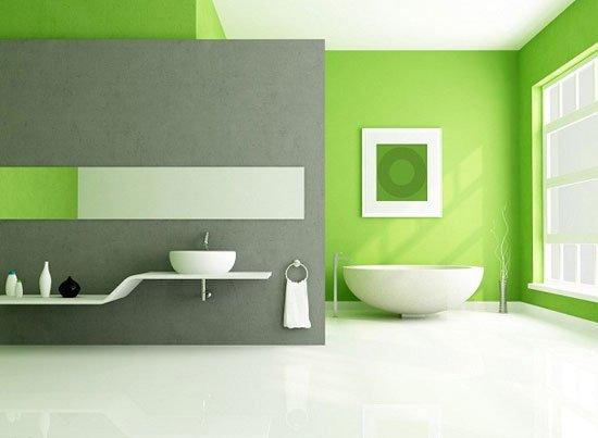 Зеленый цвет в интерьере гостиной, спальни и кухни: фото