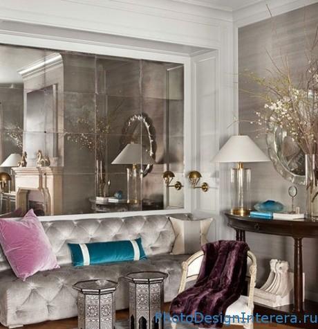 Как визуально увеличить маленькую гостиную?