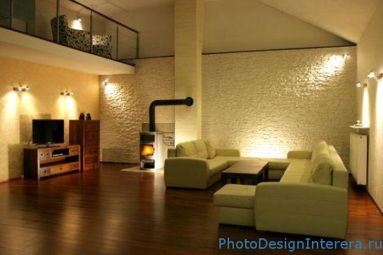 Жидкие обои в дизайне интерьера гостиной фото